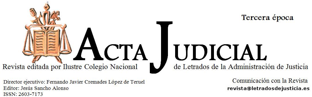 Revista Acta Judicial